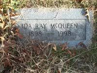 Ida Ray McQueen (Cockrell) (1898 - 1998) - Genealogy