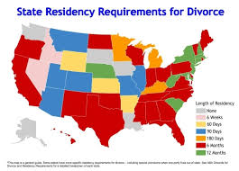 Divorce Residency Choice California People's Requirements A