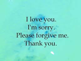 i love you i m sorry please forgive me