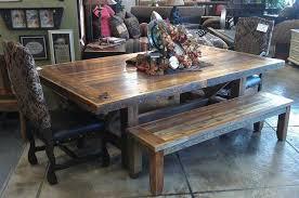 smooth barnwood dining collection handmade custom smooth barnwood trestle table
