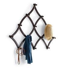 Trellis Expandable Coat Rack Magnificent Clothing Hooks Awesome Expandable Coat Rack Metal Accordion Coat