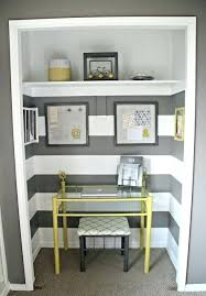 closet into office. small closet office ideas on a budget turn into o
