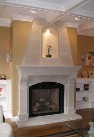 fireplace cast stone fireplace mantels beautiful style on