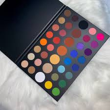 The palette features his name on the cover. Morphe X James Charles Palette Review Swatches Mehshake