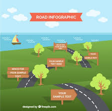 Road Infographic Template Stock Images Page Everypixel