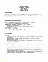 Infant Nanny Resume Free Download Cover Letter For Nanny Position