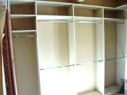 post build a closet system how much does it cost to building organizer built shelves