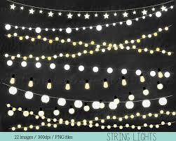 Fairy Lights Silhouette Fairy Lights Clipart