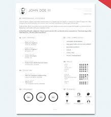 Resume Templates For Indesign Minimalist Resume Template Creative