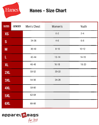 31 Inquisitive Hanes T Shirts Size Chart