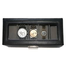 royce leather royce leather men s 5 slot watch box in genuine royce leather royce leather men s 5 slot watch box in genuine leather