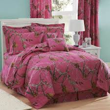realtree all purpose bed set fuchsia