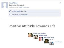 positive attitude towards life