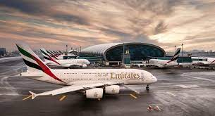 Dozens of A380-800 of Emirates At Dubai ...