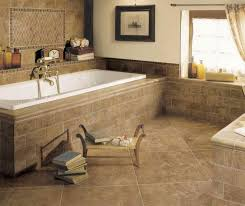 bathroom tile ideas travertine. Interesting Bathroom Decoration With Floor Covering Ideas : Interactive Picture Of Using Light Tile Travertine