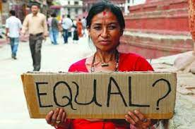 gender discrimination is prevailing at large scale in India