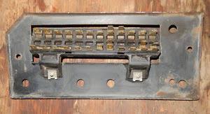 porsche 914 fuse box panel image is loading porsche 914 fuse box panel