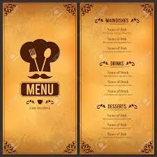 How To Design A Dinner Menu Design Menu Restaurant Makar Bwong Co