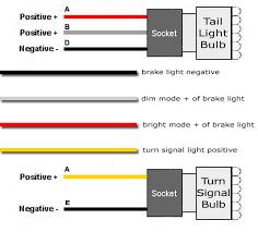 led tail light wiring diagram wiring multiple led light strips 4 pin trailer wiring diagram at Basic Tail Light Wiring Diagram