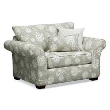 overstuffed chair and a half hlf ottoman slipcovers arm covers
