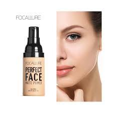 focallure face matt primer natural makeup foundation makeup base skin oil control cosmetic face base cosmetics color primer