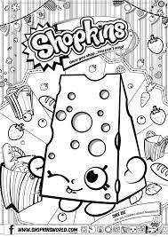 Small Picture 9 best shopkins coloring pages images on Pinterest Coloring