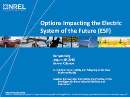 Options Impacting the Electric System of the Future (ESF) (Presentation),  NREL (National Renewable Energy Laboratory)