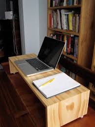 Stand up desk and workstation by Godetfurniture on Etsy, $95.00