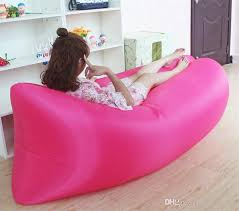 inflatable furniture. High Quality Inflatable Camping Sofa Banana Sleeping Lazy Chair Bag Nylon Hangout Beach Bed Air Couch Lay Inexpensive Patio Furniture L