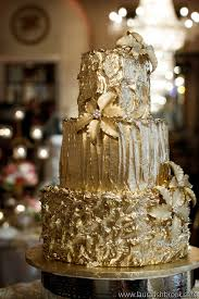 gold wedding cakes belle the magazine