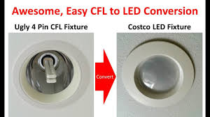 4 Prong Led Light Bulb Superior Method For 4 Pin G24 Socket Cfl To Led Conversion With Ballast Bypass