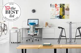 The best office desk Shaped Omnirax The Best Office Chairs Stylish Ergonomic Apartment Therapy
