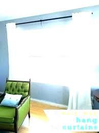 source a install curtain rod info alternatives how to on fiberglass door