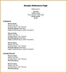 How To Format References On A Resume Unique Character Reference Resume References Format Character Reference