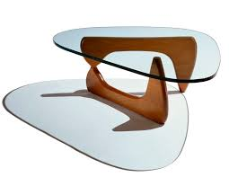 ... Contemporary Coffee Table / Walnut / Ash / Wood Veneer NOGUCHI RUDDER Herman  Miller Europe ...