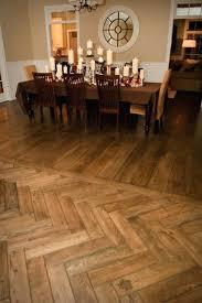 herringbone wood floor herringbone pattern wood look tile floor