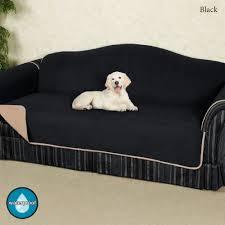 black furniture covers. reversible fleece furniture cover sofa black covers