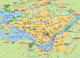 maps of montreal  johomaps