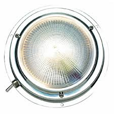 Seachoice Cabin Dome Light 12 V 1 5 8 In H 4 In Dia