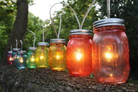 4 rainbow ball jar string lighting blue mason jar string lights