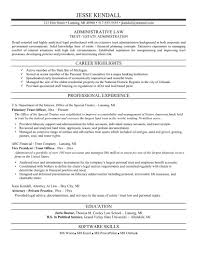 attorney resume samples
