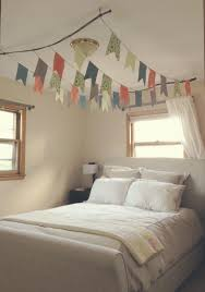 Diy Bed Canopy Diy Flag Canopy Over Bed Use Branches To Hang From The Ceiling