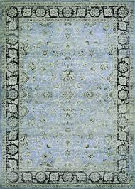 couristan zahara serab slate blue black area rug