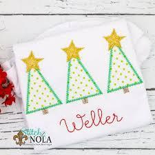 Oh Christmas Trio Christmas Tree Trio Applique Christmas Tree Applique Christmas Applique Tree Trio Shirt Tree Trio Applique Xmas Shir