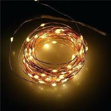 outdoor battery decorative lights operated india string led starry light copper wire lighting agreeable
