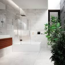 bath enclosures a relaxing shower and bath all in one