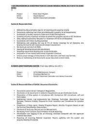 Job Profile Of Document Controller Document Controller Resume Sample Carinsurancequotes66 Info