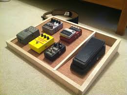 Designing A Pedal Board Nearly Done With My Diy Pedal Board Just Need To Clear Coat