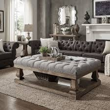 gowans floor shelf coffee table with