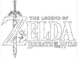 Legend Of Zelda Coloring Pages Theorangechefco